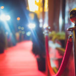 A red carpet is traditionally used to mark the route taken by heads of state on ceremonial and formal occasions